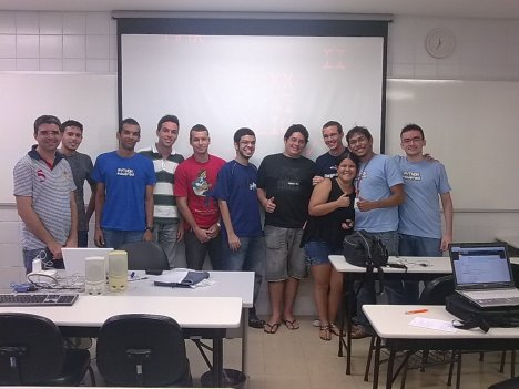 Participantes do primeiro encontro do PUG-PE