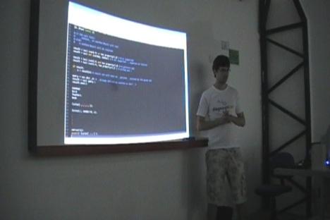 Daker apresentando  Swithon