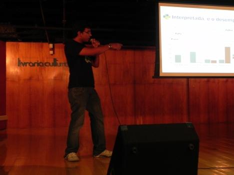 Marcel Caraciolo apresentando Python
