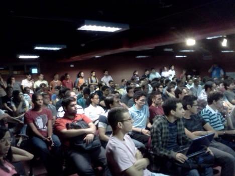Público do X Encontro do Grupo de Usuários de Python de Pernambuco