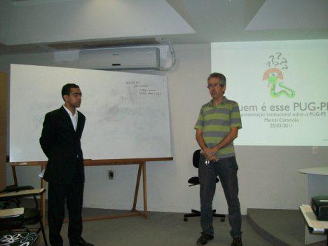 Diretor do Instituto Federal de Pernambuco abrindo o evento