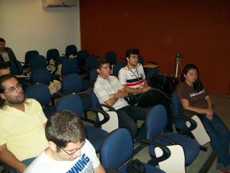 Público no XII Encontro do Grupo de Usuários de Python de Pernambuco