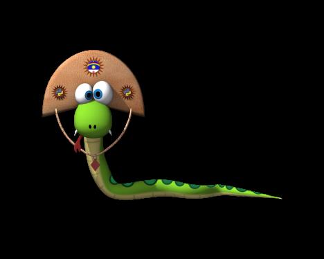 Mascote do PUG-PE em 3D