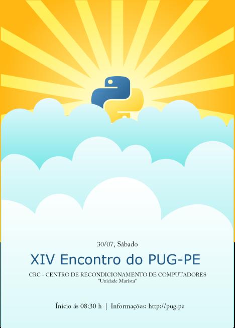 XIV Encontro do Grupo de Usuários de Python de Pernambuco
