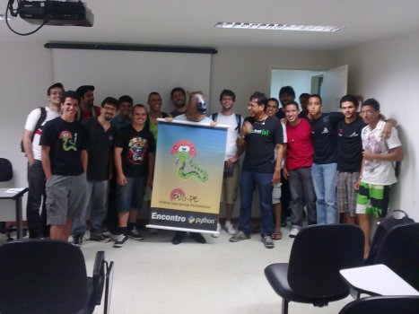 Público no XV Encontro do Grupo de Usuários de Python de Pernambuco