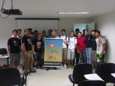 Público presente no XV Encontro do Grupo de Usuários de Python de Pernambuco