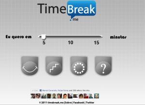 TimeBreak.me em ação!